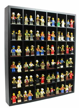 Wall Curio Display Case Cabinet Display Stand for Minifigure
