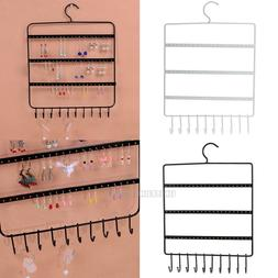 Wall Jewelry Earring Organizer Hanging Holder Necklace Displ
