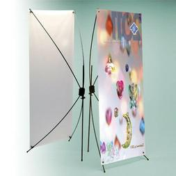 """X Banner Display Stand 24""""W x 63"""" H"""