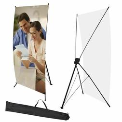 "X Banner Display Stand 24"" wide 63"" tall + travel bag Trade"