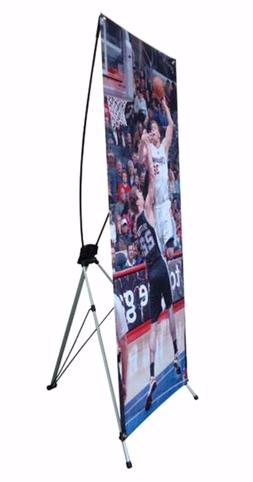 """X Banner Stand 24"""" x 63"""" w/ Free Bag ,  Trade Show Display B"""